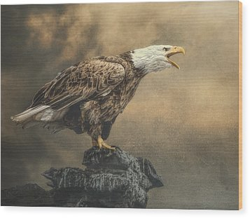 Wood Print featuring the photograph Call Of The Wild by Brian Tarr