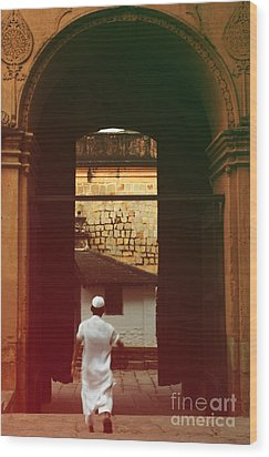 Wood Print featuring the photograph Call To Prayer by Mini Arora