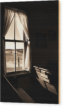 Wood Print featuring the photograph Call To Worship by Jim Garrison