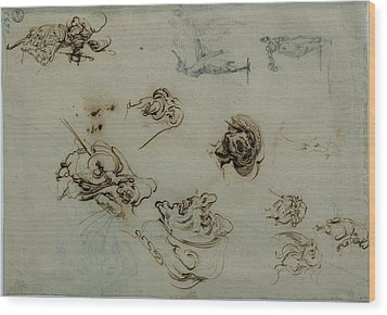Callot Jacques, Caricatures Wood Print by Everett