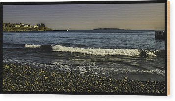 Calm Seas Wood Print