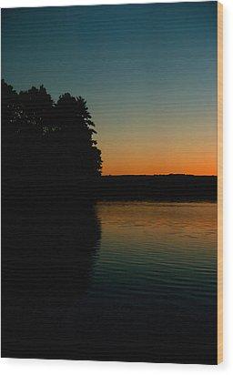 Calm Sunrise Wood Print by Ben Kotyuk