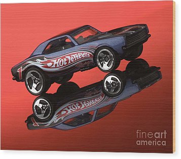 Camaro4-2 Wood Print by Gary Gingrich Galleries