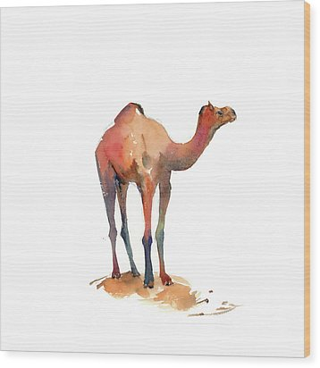 Camel I Wood Print