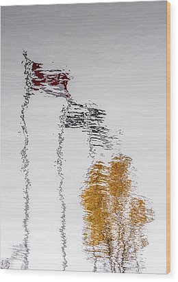 Wood Print featuring the photograph Canada - Quebec - Autumn by Arkady Kunysz