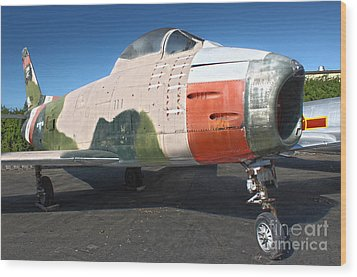 Canadair Sabre Qf-86h Wood Print by Gregory Dyer