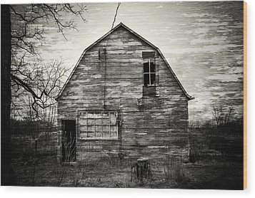 Canadian Barn Wood Print