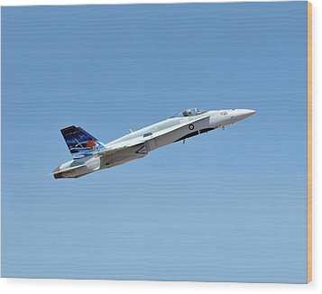 Wood Print featuring the photograph Canadian Cf18 by Jim Poulos