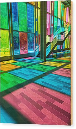 Candy Store Wood Print