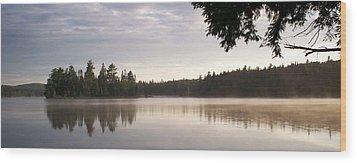 Canisbay Lake - Panorama Wood Print