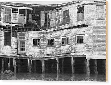 Cannery Wood Print by Joe Klune