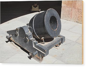 Cannon At San Francisco Fort Point 5d21489 Wood Print by Wingsdomain Art and Photography