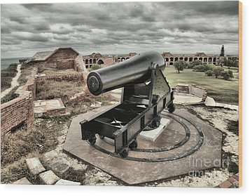 Canon Fire 360 Wood Print by Adam Jewell