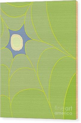 Canopy Peek Wood Print
