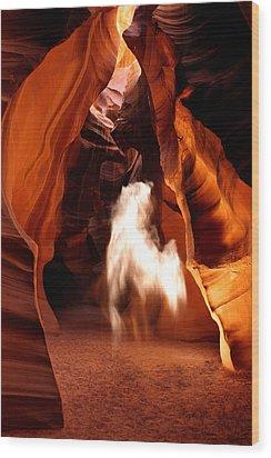 Canyon Apparition Wood Print