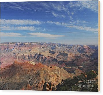 Canyon Colors 1 Wood Print by Mel Steinhauer