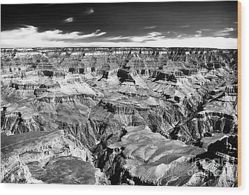 Canyon Craters Wood Print by John Rizzuto