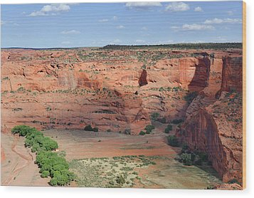 Canyon De Chelly Near White House Ruins Wood Print by Christine Till
