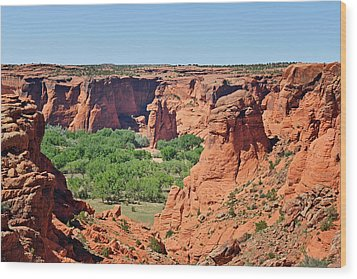 Canyon De Chelly - Tunnel Overlook Wood Print by Christine Till
