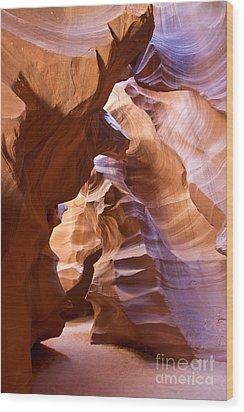 Canyon Walls Wood Print by Bryan Keil