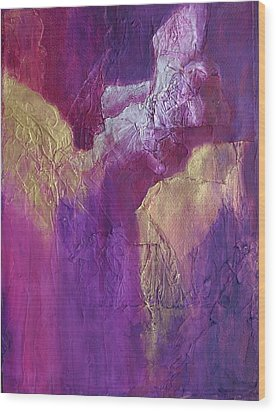 Wood Print featuring the painting Canyonlands by Nancy Jolley