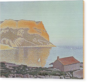 Cap Canaille Wood Print by Paul Signac