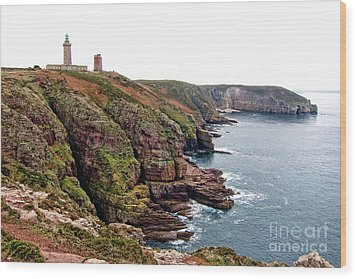 Cap Frehel In Brittany France Wood Print by Olivier Le Queinec