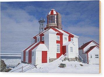 Cape Bonavista Lighthouse Wood Print