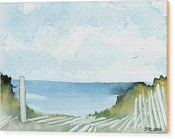 Cape Cod Bay Study #1 Wood Print