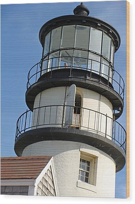 Wood Print featuring the photograph Cape Cod Lighthouse by Ira Shander