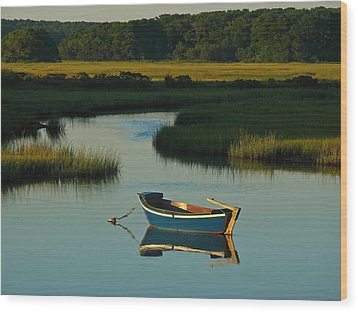 Cape Cod Quietude Wood Print by Juergen Roth