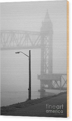 Cape Cod Railroad Bridge No. 3 Wood Print by David Gordon