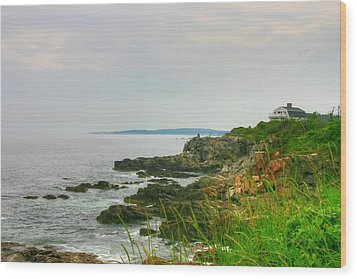 Cape Elizabeth Maine Wood Print