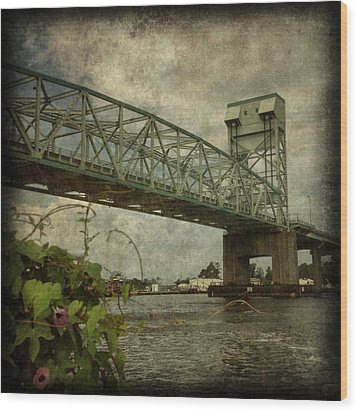 Cape Fear Morning Glory Wood Print by Dorian Hill