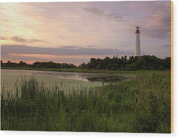Cape May Lighthouse II Wood Print