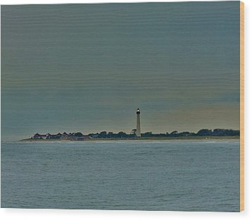 Wood Print featuring the photograph Cape May Point by Ed Sweeney