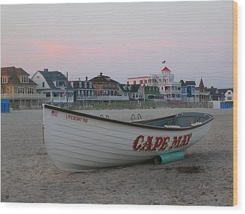 Cape May Remembered Wood Print