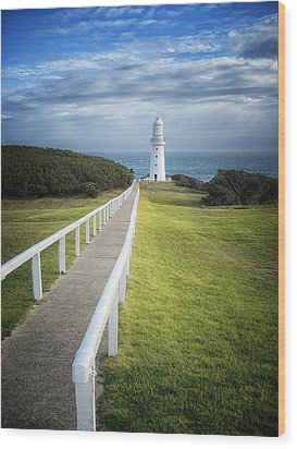 Cape Otway Wood Print by Kim Andelkovic