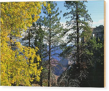 Cape Royal Grand Canyon Wood Print
