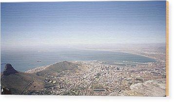 Cape Town Panorama Wood Print by Shaun Higson