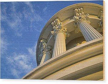 Capitol Columns Wood Print