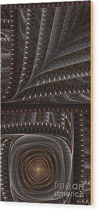 Cappuccino Wood Print by Jaclyn Hughes Fine Art