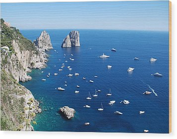 Capri  Wood Print by Dany Lison