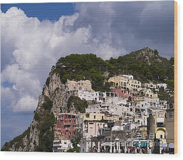 Capri Magic Wood Print