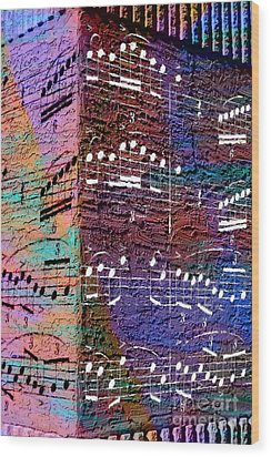 Capriccio Corner 1 Wood Print