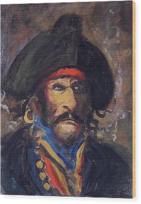 Captain Charming Wood Print by R W Goetting