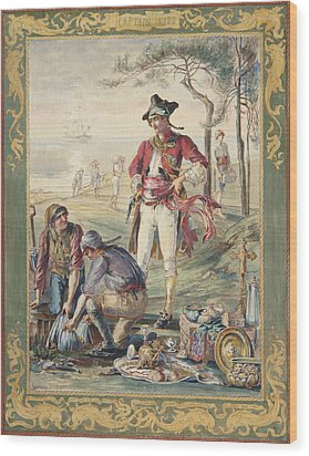 Captain Kidd  Helen Maitland Armstrong Wood Print by Paul Ashby Antique Paintings