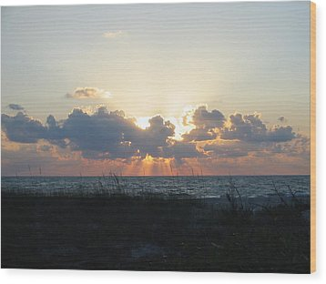 Wood Print featuring the photograph Captiva Island Fl by Jean Marie Maggi