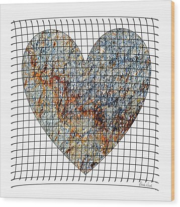 Wood Print featuring the digital art Captured Love- No1 by Darla Wood