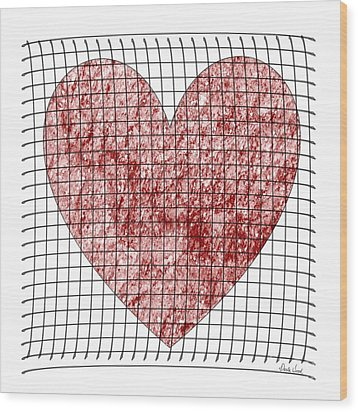 Wood Print featuring the digital art Captured Love- No2 by Darla Wood